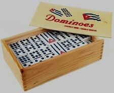 Domino Cuban DOMINO CUBANO DOBLE NUEVE double  NINE DOMINOES cuban flag logo