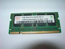 Barrette mémoire HYNIX 2 GO SO-DIMM DDR2 PC2 5300S