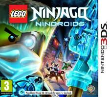 Nintendo 3DS Game LEGO NINJAGO NINDROIDS 2DS Compatible NEW