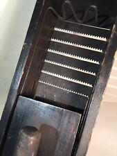Antique Vintage Wood Primitive Home  Vegtable Slicer Pat Feb 22, 1898 Catawissa