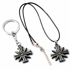 New Far Cry 5 Action Figure Toy Eden's Gate Metal Keychain Keyring Necklace