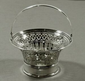 Tiffany Sterling Sugar Basket                  c1912 NO MONO