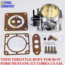 """75MM 2.95"""" THROTTLE BODY FOR 1986-1993 FORD Explorer MUSTANG GT COBRA LX 5.0L SL"""
