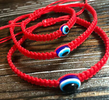 Red Thread Protection Evil Eye Adjustable 3 Pcs Mom Dad And Baby Bracelets
