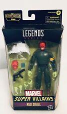 "Marvel Legends Super Villains RED SKULL 6"" Figure Brand New Sealed"
