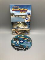 Sega Bass Fishing Duel (Sony Playstation 2 PS2) - DISC & Manual Only