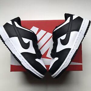 Nike Dunk Low TD Black White Size CW1589-100 8c Brand New