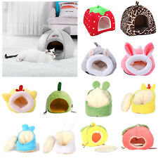 Pet Cat Dog Winter Warm Nest Bed Puppy Soft Cave House Hamster Sleeping Cozy Mat