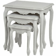 FLEUR NEST OF TABLES - ADD A TOUCH OF ELEGANCE TO YOUR HOME.