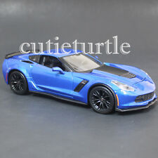 Maisto 2015 Chevrolet Corvette Stingray C7 Z06 1:24 Diecast Model 31133 Blue