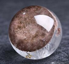 Popular crystal ! nature Phantom/Ghost Quartz Crystal gemstone sphere ball reiki