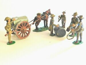 54mm WW1 Australian Soldiers at Furphy water cart.