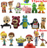 Toy Story 4 Set of 17 collectible mini figures Forky Ducky Bunny Lotso Toy Gifts