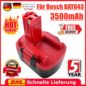 12V 3500mAh NiMH Akku für Bosch BAT043 BAT045 BAT043 BAT046 GSB PSR GSR 12 VE 2