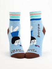 Blue Q Ankle Socks - I've Got Big Plans