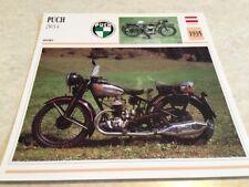 Ficha de moto colección Atlas motorbike Puch 250 S4 1935