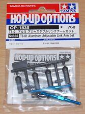 Tamiya 54835 T3-01 Aluminum Adjustable Link Arm Set (Dancing Rider/T301), NIP