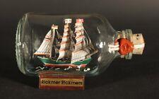 Rickmer Rickmers Mini Buddelschiff 50 ml 7,2 x 4,5 cm original Flaschenschiff