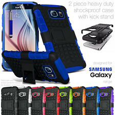 HEAVY DUTY TOUGH SHOCKPROOF CASE COVER PROTECTION FOR SAMSUNG GALAXY PHONES - UK