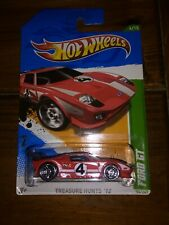 Hot wheels FORD GT Treasure Hunt 2012  very good condition