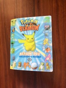Pokemon Stadium Action 3ds Collectors Record Incomplete