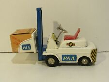 Friction Toy Forklift S-1098 Vintage Collectible Complete With Box Rare Tin PAA
