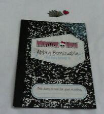 Repuestos De Monster High Abbey Bominable Wave 1 Diario Diario