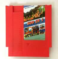 New Arrival 500 In 1 Game Card For 72 Pin 8 Bit Game Player for NES