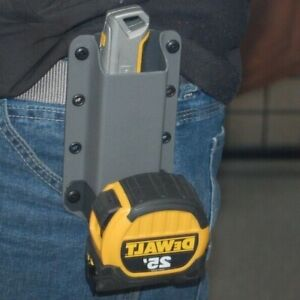 Tape Measure Holder & DeWALT Cordless drill Strap, holds Pencil, Knife & MORE!