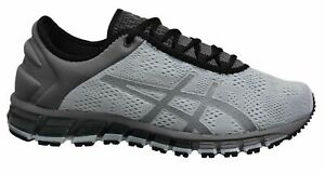Asics Gel-Quantum 180 3 Grey Low Lace Up Mens Running Trainers 1021A029 021