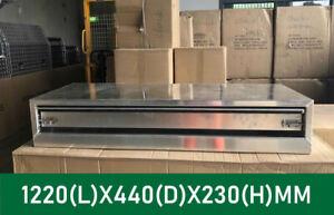 1220*440*230mm Aluminium Tool Boxes Truck Ute Tool Boxes Tool Box Toolbox 4 Whee