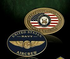 """UNITED STATES NAVY AIRCREW 2"""" CHALLENGE COIN"""