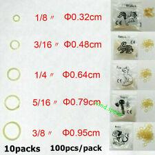10packs Dental Orthodontic Rubber Bands Elastic Latex Braces 25354565oz
