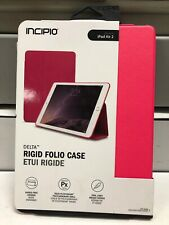 "Incipio Delta Rigid Folio Case/Cover For Apple iPad Air2 9.7"" Pink, Ship Free"