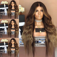 Fashion Synthetic Hair  Wig Long Wavy Full Wigs Curly Wig For Women