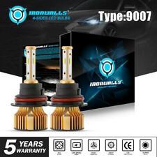 HB5 9007 2500W LED Headlight Bulbs Hi-Lo Beam for Dodge Ram 1500 2500 3500 03-05