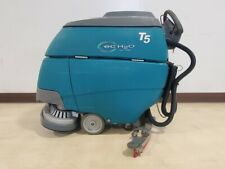 2014 Tennant T5 Ech20 Electric Walk Behind Scrubber Floor Cleaner Low Hours