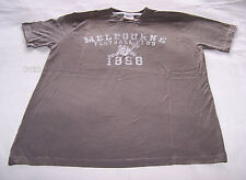 Melbourne Demons AFL First 18 Mens Printed T Shirt Size S New Imperfect