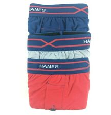 Lot of 3 Hanes X Temp Mens Medium M Active Cool Tagless Boxer Shorts Underwear