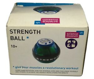 Strength Ball Science Green Arm Toning Exercise Machine ( New Batteries Required