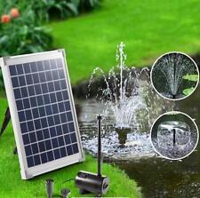 10w 800 L/h Solar Power Outdoor Garden Water Pump 3 Heads Lift Height 2 m
