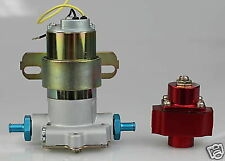 FUEL PUMP 140 GPH ELECTRIC & REGULATOR HOLLEY STYLE NEW ELECTRIC CHEV FORD MOPAR