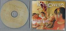 PROMO MAXI CD Königwerq - König des Leids - Absolut neuwertig