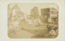 Foto 15.Infanterie-Division zerstörte Ortschaft/Dorf  bei Reims 1918 (935)