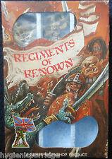 1985 GOLGFAG les autres regiment du Mercenaire Ogres RRD12 Citadel Renown RR8 En parfait état, dans sa boîte GW
