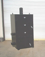 NEW Custom Vertical Restaurant Sized BBQ pit smoker and Charcoal grill Model 4x4
