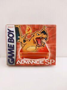 Game boy advance sp Dracaufeu Charizard Pokémon Center Nintendo pikachu pca psa