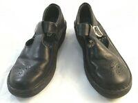 Josef Seibel Womens Size EU 40 US 9 Black Leather Perferated Toe comfort Shoes