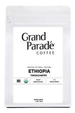 Organic Ethiopian Yirgacheffe Coffee, Fresh Medium Roasted Whole Beans | 1 lbs