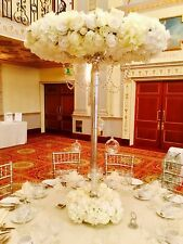 Wedding table centrepiece  HIRE ONLY - flowers bride halo of flowers event